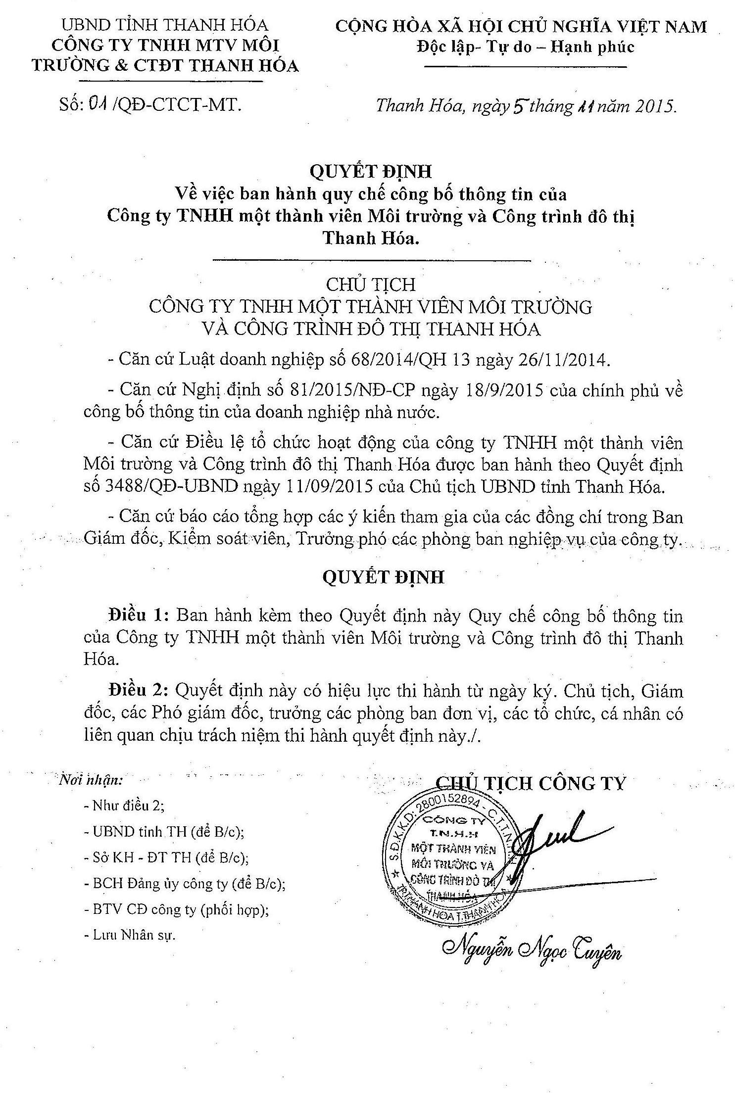 QD Quy che cong bo thong tin
